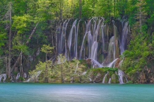 Pritvice-Kroatie